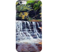 Cascades, Blue Mountains iPhone Case/Skin
