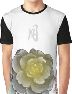 Inked Petals of a Year January Graphic T-Shirt