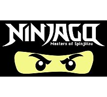 Ninjago Kai Zane Masters of Spin Jitzu Photographic Print