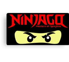 Ninjago Kai Zane Masters of Spin Jitzu Canvas Print