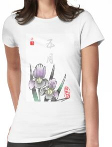 Inked Petals of a Year May Womens Fitted T-Shirt