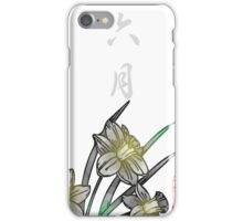 Inked Petals of a Year June iPhone Case/Skin