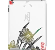 Inked Petals of a Year June iPad Case/Skin