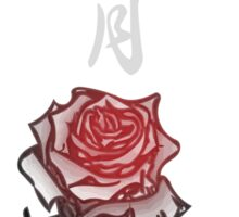 Inked Petals of a Year November Sticker