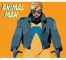 Animal Man Photographic Print