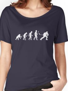 Ice Hockey Evolution Women's Relaxed Fit T-Shirt