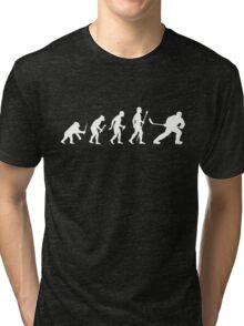 Ice Hockey Evolution Tri-blend T-Shirt