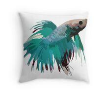 Betta Pillow - Turquoise Throw Pillow