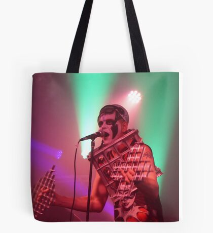 Dee Minor and the discords live on stage Tote Bag
