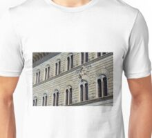 Building from Siena with decorative windows. Unisex T-Shirt