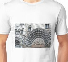 Detail of the cathedral from Genova. Unisex T-Shirt