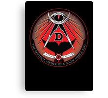 Esoteric Order of Dagon Lodge Canvas Print
