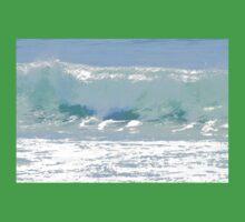 Pastel Wave One Piece - Short Sleeve