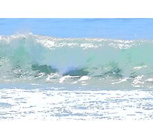 Pastel Wave Photographic Print