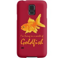A world of Goldfish Samsung Galaxy Case/Skin