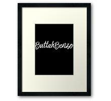 ButtahBenzo Framed Print