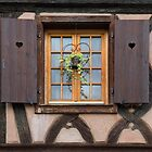 Window of a Half-Timbered House by Yair Karelic