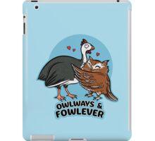 Owlways & Fowlever iPad Case/Skin