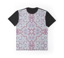 Mauve, Pink & Blue Graphic T-Shirt