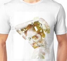 Double exposure portrait Unisex T-Shirt