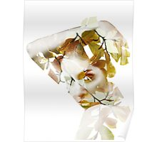 Double exposure portrait Poster