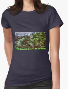 Leisure park Womens Fitted T-Shirt