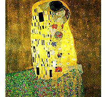 The Kiss by Gustav Klimt Photographic Print