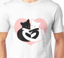 Balanced Feline Love Unisex T-Shirt