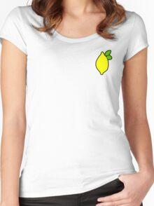 Squid Girl Lemon House Women's Fitted Scoop T-Shirt