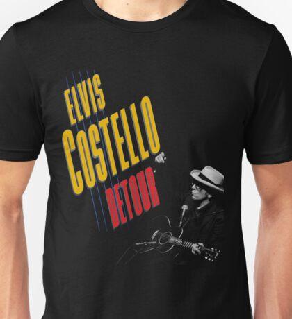 Ferda05 Elvis Costello DETOUR Tour 2016 Unisex T-Shirt