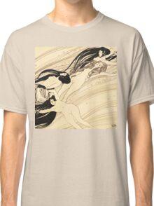 Fish blood by Gustav Klimt Classic T-Shirt