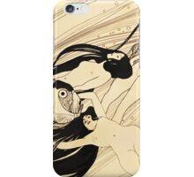 Fish blood by Gustav Klimt iPhone Case/Skin