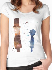 Room For Thought- a Professor Layton Tribute Women's Fitted Scoop T-Shirt