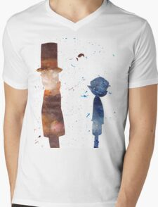 Room For Thought- a Professor Layton Tribute Mens V-Neck T-Shirt