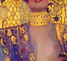 Judith by Gustav Klimt Sticker