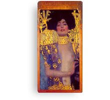 Judith by Gustav Klimt Canvas Print
