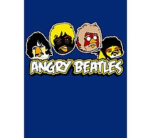 Angry Birds Parody- Angry Beatles Photographic Print