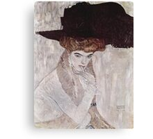 Man in a Hat by Gustav Klimt Canvas Print