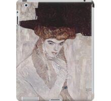 Man in a Hat by Gustav Klimt iPad Case/Skin