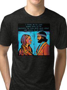 The Royal Tenenbaums Margot and Ritchie Tri-blend T-Shirt