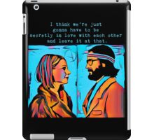 The Royal Tenenbaums Margot and Ritchie iPad Case/Skin