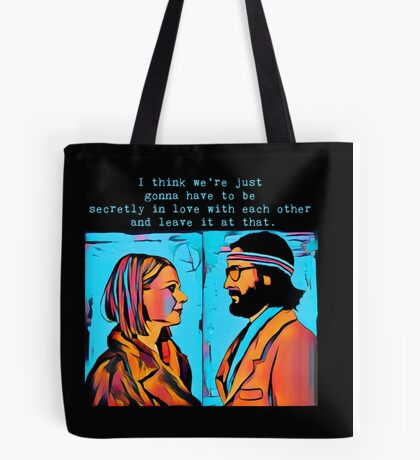 The Royal Tenenbaums Margot and Ritchie Tote Bag