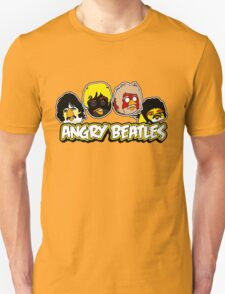 Angry Birds Parody- Angry Beatles T-Shirt