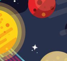 deeper into space Sticker