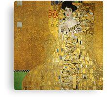 Adele Bloch-Bauer I by Gustav Klimt Canvas Print