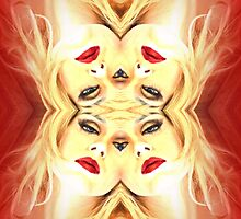 Red lips by Icarusismart