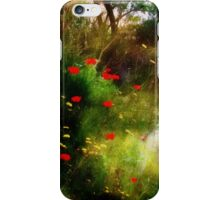 Umbrian Wildflowers 3 iPhone Case/Skin
