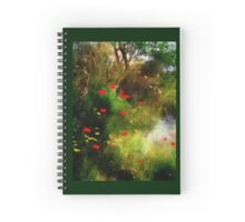 Umbrian Wildflowers 3 Spiral Notebook
