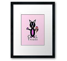 Pink Cool Treats Framed Print