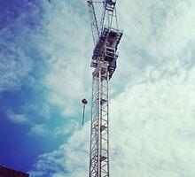 In the Sky Construction by Vanessa  Warren